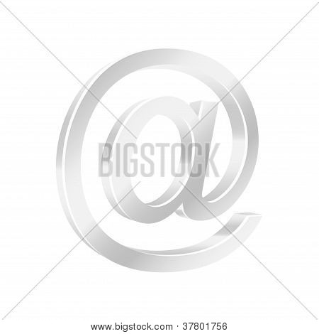 Email Symbol. Vector Illustration