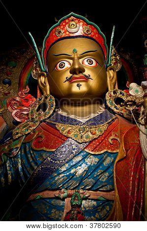 Statue Of Buddhist Guru Padmasambhava (Rinpoche)