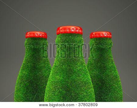 Grass Bottle