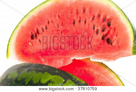 Sliced Ripe Fresh Watermelon