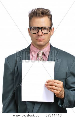 Fashionable Businessman