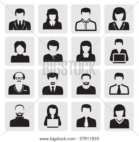 avatar icons