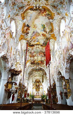 Rottenbuch church.