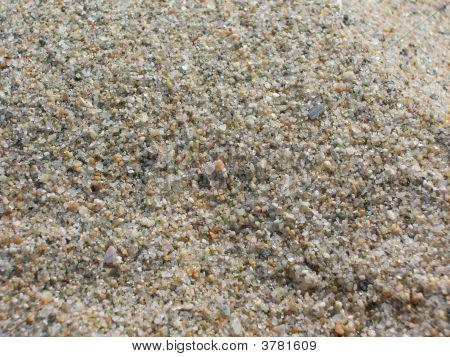 Sand On A California Beach