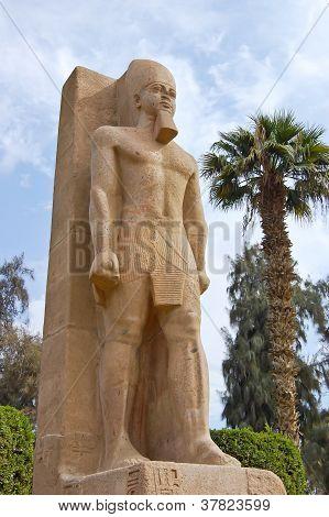 Standing Statue Of Ramses II