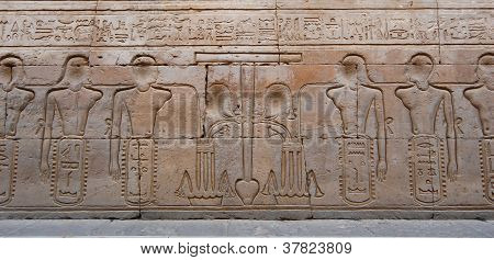 Egyptian Engraved Image
