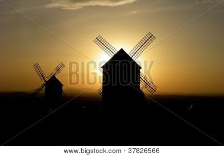 Windmills Spain