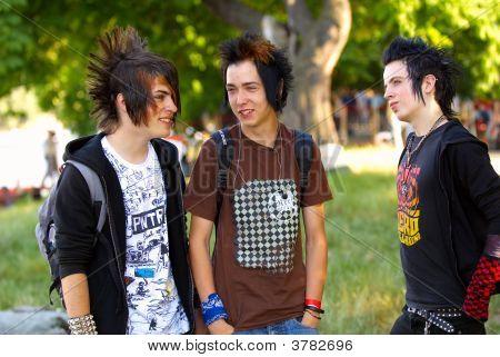 Punk Teens