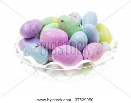 Speckled Candy Eggs