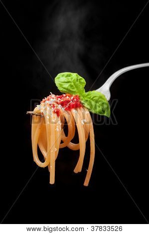 Spaghetti Al Pomodoro Caldi