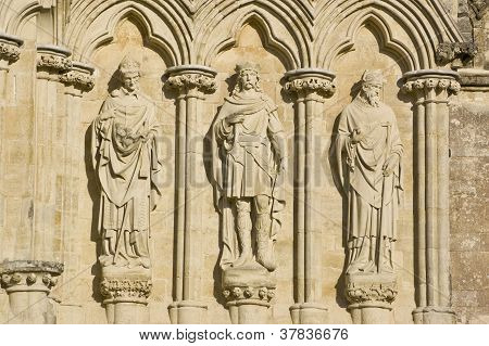 Three English Saints, Salisbury Cathedral