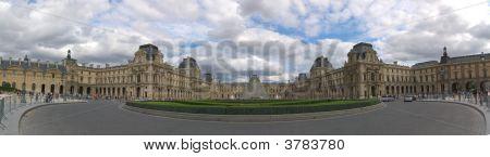 Louvre Museum Panorama
