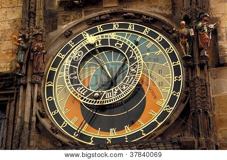 Orloj Clock In Prague