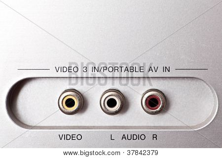 Audio And Video Sockets