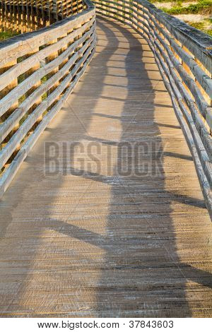 A Wooden Dune Boardwalk