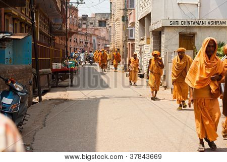 Religious Pilgrimage Haridwar Walking Street