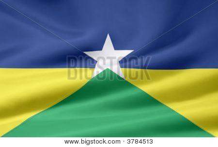Flag Of Rondonia Brasilia