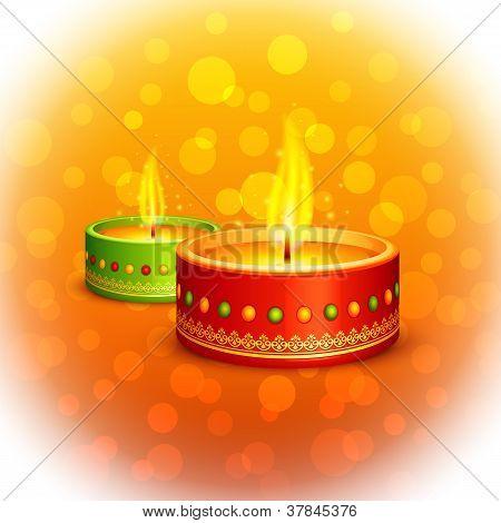 Holy Diya for Festival