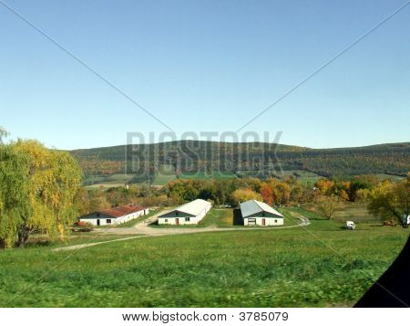 granja en las montañas catskill, nueva york