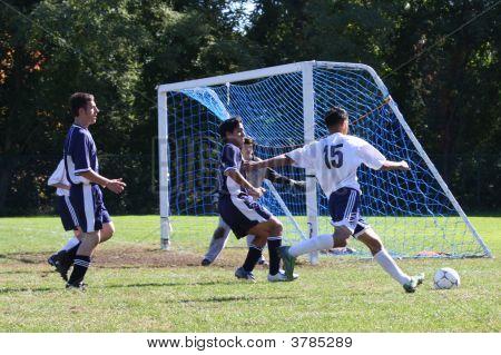 High School Soccer Player