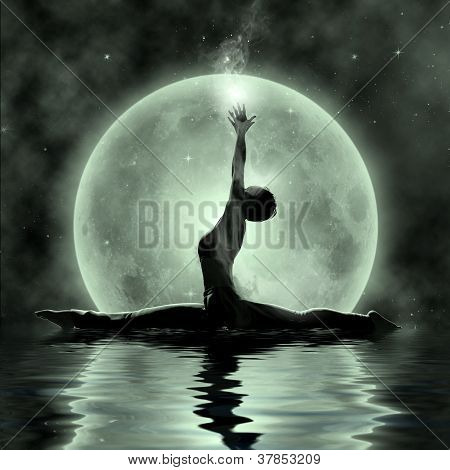 Moonlight Yoga Meditation