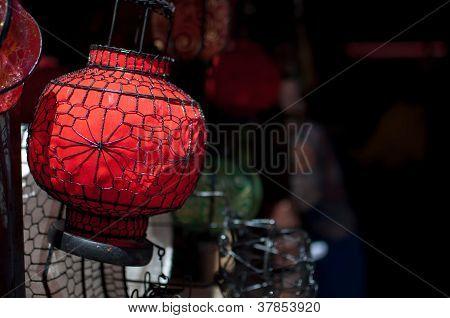 Souvenir Chinese lantern at Panjiayuan Flea Market, Beijing