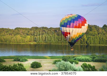 Painted In Colours Balloon Fly