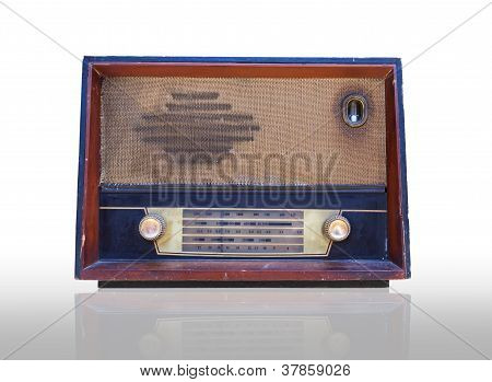 Vintage Radio Isolated