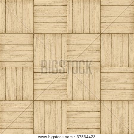 Parquet Pattern - Seamless Wood Background