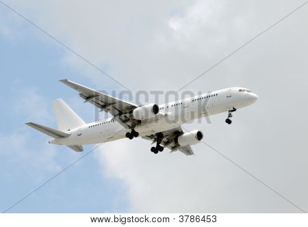 Unmarked Airplane