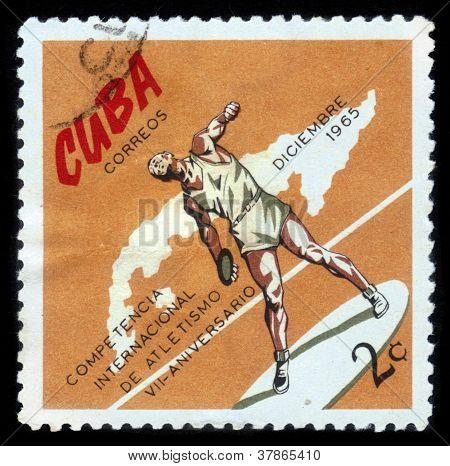 Cuba - Discus Thrower