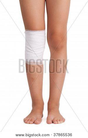Bandaged Leg