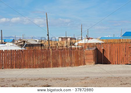 A Typical Mongolian City