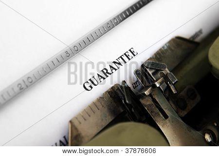 Guaranty  Form