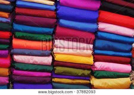 Colorful Indian Sari