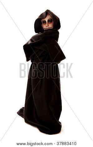 Boy In Halloween Zombie Fancy-dress