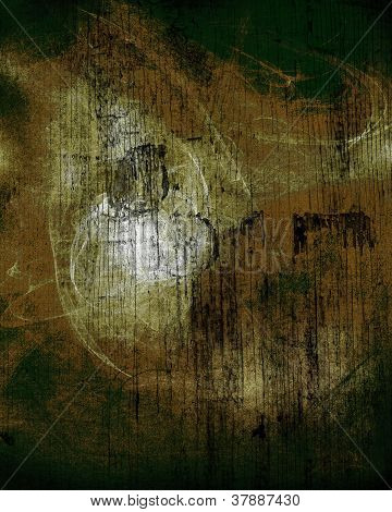 Abstract background with textures and light dripping paint