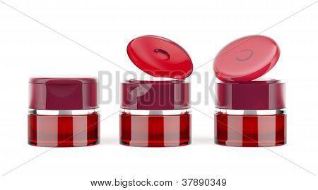 red jars