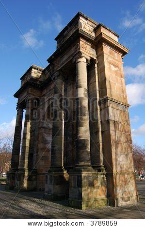 Glasgow Green Arch