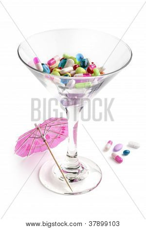 cocktail of pills