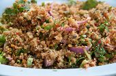 Spicy Minced Meat Salad poster