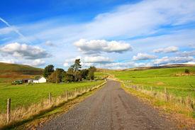 stock photo of carron  - Carron Valley Campsie Hills - JPG