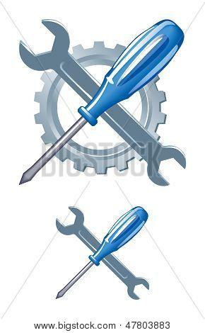Tools emblem