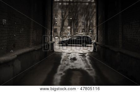 criminal urban decay (tilt-shift lens f/x)