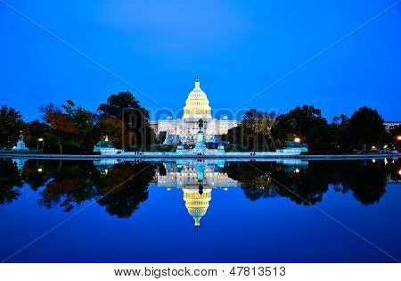 Capitol building in Washington DC, United States