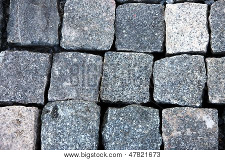 The Square Shapes Background Of Stone.