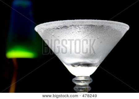 Chilled Martini Glass