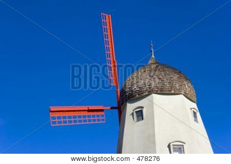 Windmill In The Blue