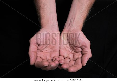 Pleading Hands