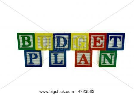 Wooden Alphabet Blocks Spelling Budget Plan